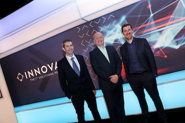 Enda Cahill CTO INNOVATE Tony Hanway Chief Executive Virgin Media Jim Hughes CEO INNOVATE