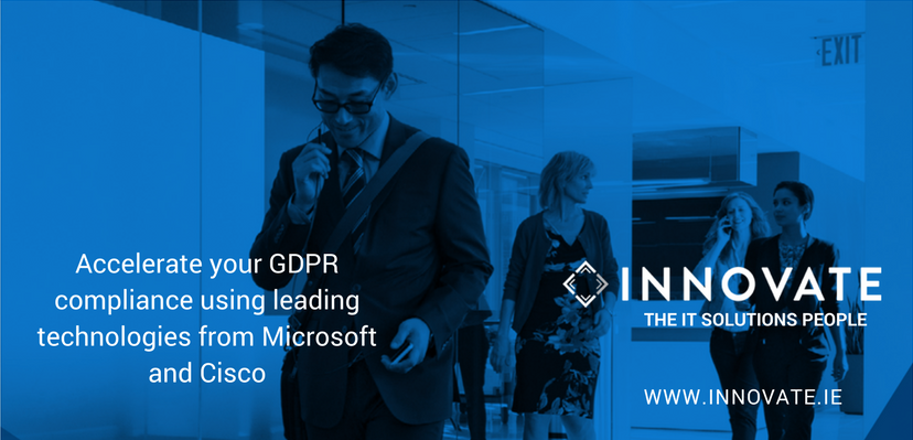 Accelerate your GDPR compliance using leading technologies from Microsoft and Cisco