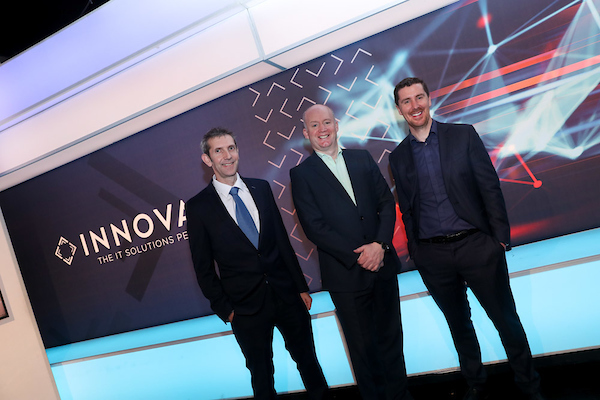 Enda Cahill CTO INNOVATE Tony Hanway Chief Executive Virgin Media Jim Hughes CEO INNOVATE